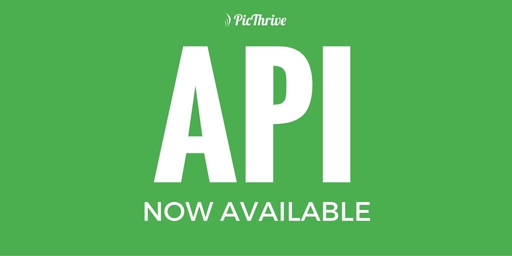 PicThrive - Photo API