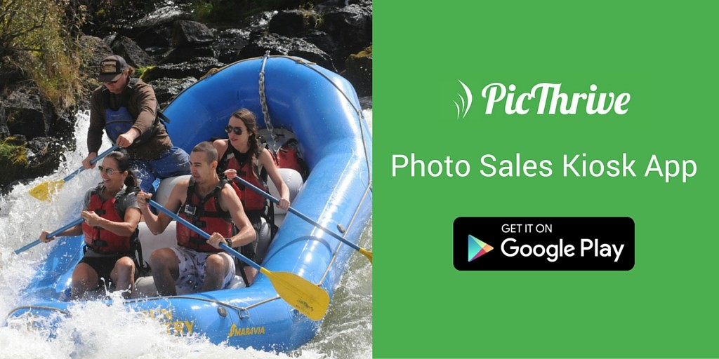 PicThrive Photo Sales Kiosk App