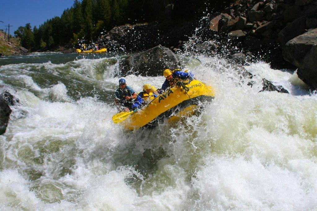 Photo marketing rafting operators